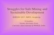 Struggles for Safe Mining and Sustainable Development R.Sreedhar Trustee, Environics Trust Convenor, mines minerals & PEOPLE, Delhi ANROAV 2007, AMRC,