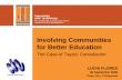 Involving Communities for Better Education