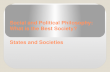 Social and Political Philosophy: What is the Best Society? States and Societies.