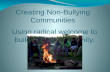 Creating non bullying communities