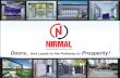 COMPANY PROFILE - NIRMAL AUTOMATION