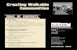 Creating Walkable Communities