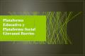 Plataforma educativa y plataforma social