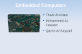 Embedded Computers