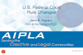 John B. Pegram Fish & Richardson P.C. U.S. Federal Court Rule Changes 1 © AIPLA 2015.