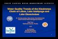 Water Quality Trends of the Kissimmee Chain of Quality Trends of the Kissimmee Chain of Lakes, Lake Istokpoga and Lake Okeechobee ... Jan-81 Jan-83 Jan-85 Jan-87 Jan-89 Jan-91 Jan-93