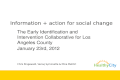 Early intervention 1.23.2012