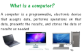 Understanding Computers - Introduction to Computers