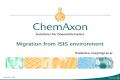 ChemAxon Presentation