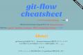 Git flow cheatsheet