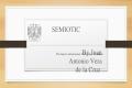 Semiotics signs