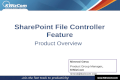 KWizCom SharePoint file controller feature - product overview