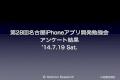 第28回名古屋i phoneアプリ開発勉強会アンケート結果