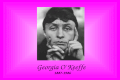 Georgia O'Keeffe 1887-1986. Georgia O'Keeffe was born on November 15, 1887, the second of seven children, and grew up on a farm in Sun Prairie, Wisconsin.