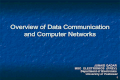 Data Communication and Computer Networking Part # 1