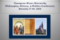 Philosophy, History, and Politics Undergraduate Conference 2013