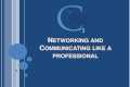 Networking and Professional Communication