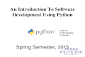 An Introduction To Python - Understanding Computers