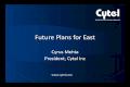 Eugm 2012   mehta - future plans for east - 2012 eugm
