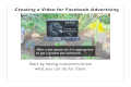 Video for facebook ad