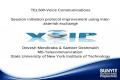 TEL500-Voice Communications Session initiation protocol improvement using inter- asterisk exchange Devesh Mendiratta & Sameer Deshmukh MS-Telecommunication.