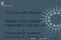 Www.ci.anl.gov www.ci.uchicago.edu The Cray XE6 Beagle Beagle Team (beagle-support@ci.uchicago.edu)beagle-support@ci.uchicago.edu Computation Institute.