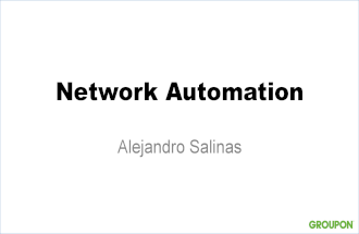 Network Automation (Bay Area Juniper Networks Meetup)
