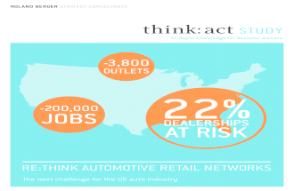 Automotive Retail Network 2014 Study - The Next Challenge Of The US Auto Industry By Roland Berger Strategy Consultants