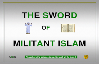 Kr8: Militant Islam - 270 M. Killed