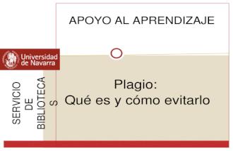 Plagio: qué es y cómo evitarlo