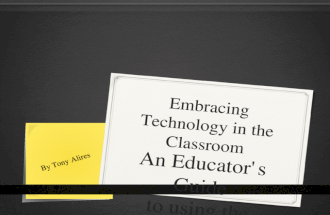 Embracing Technology in the Classroom