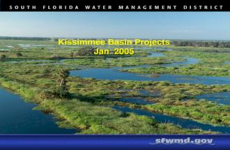 Kissimmee Basin Projects Jan  2005