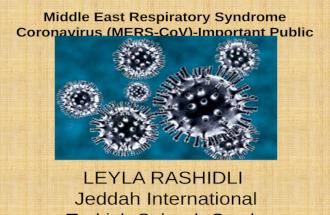 Coronavirus presentation by Leyla Rashidli