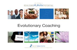 Evolutionary coaching summit presentation v4
