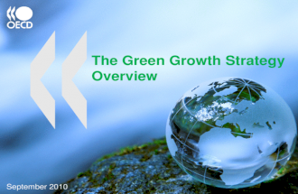Green Growth Strategy: Overview – OECD