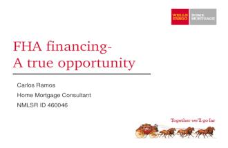 Fha Financing A True Opportunity