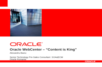 Oracle - Document Life - 6apr2012