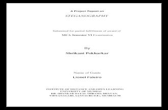 Steganography Synopsis (1)