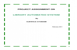 Library Automated Systems
