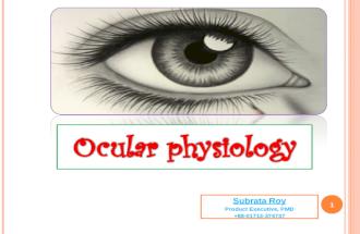 Ocular physiology_2014