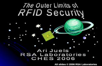 The Outer Limits of RFID Security