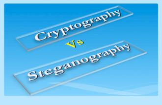 CryptographyVsStegnoGraphy
