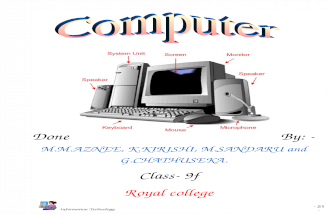 Basic Knowledge in IT