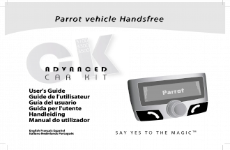 Parrot Ck3100 Userguide Zone A