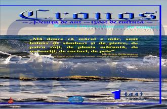 Revista Cronos nr. 1 (44), 2020