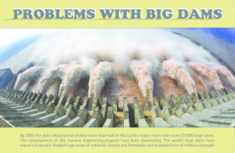 Problems with big dams Infographic