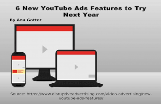 6 New YouTube Ads Features to Try  Next Year