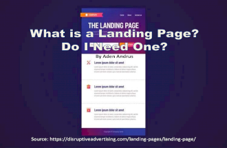 What is a Landing Page? Do I Need One?