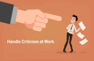 Handle Criticism at Work