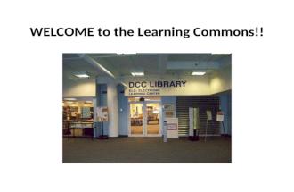 Damon City Campus Library Virtual Tour